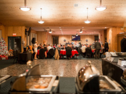 group booking christmas party banquet at The Links at Spruce Grove