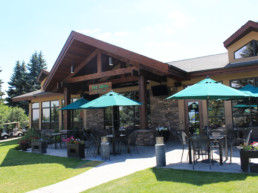 The Grill patio at The Links at Spruce Grove
