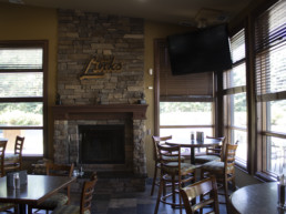 dining room at The Grill at The Links at Spruce Grove